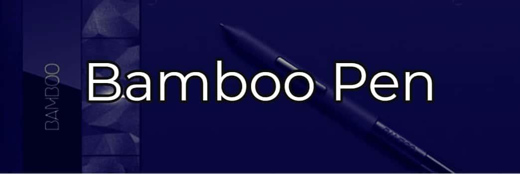 complementos para la tablet bamboo