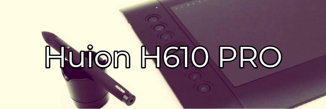 tableta grafica huion h610 pro
