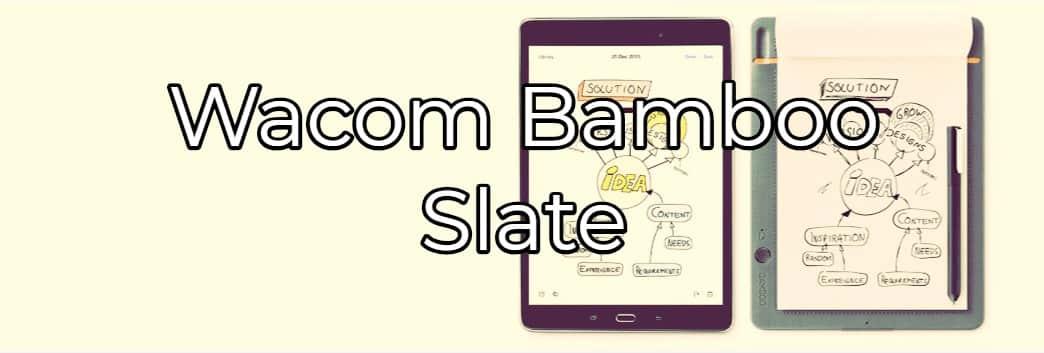 comprar cuaderno digital bamboo slate