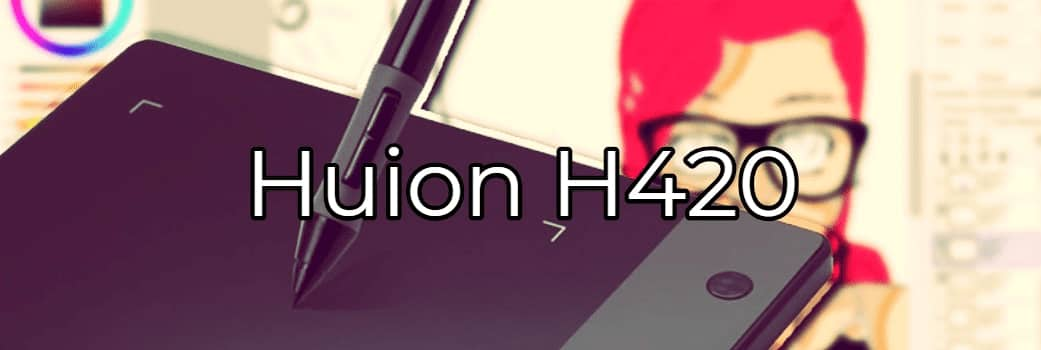 tableta huion h420
