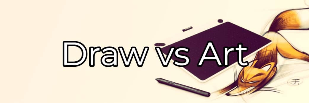intuos draw vs art