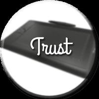 tableta grafica trust