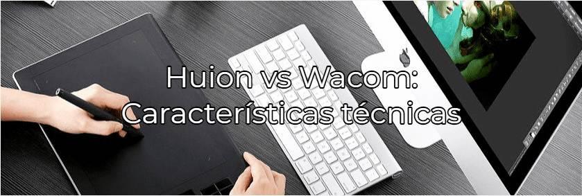 huion vs wacom español