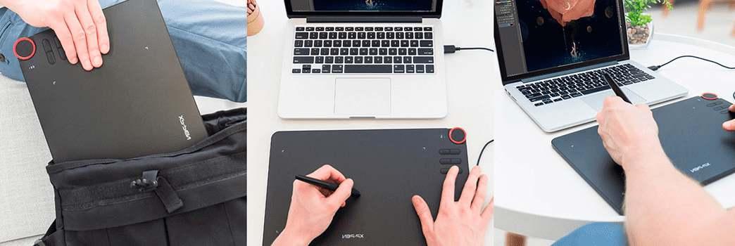 XP-Pen Deco 03 Tableta Gráfica de Dibujo con lápiz